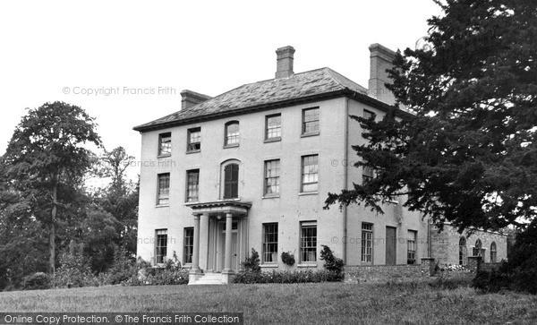 Kelsale, Court Convalescent Home c1955