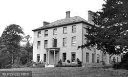 Kelsale, Court Convalescent Home c.1955