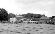 Kelsale, the Village c1955