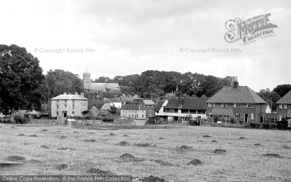 Photo of Kelsale, the Village c1955