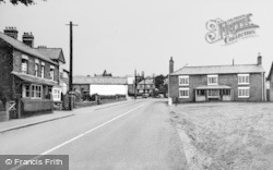 Kelsall, The Globe Inn Corner c.1960