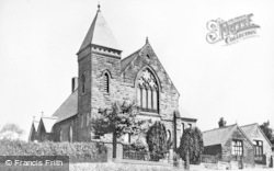 Kelsall, The Methodist Church c.1960