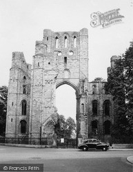 Kelso, Abbey 1956