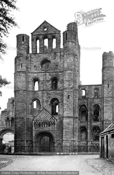 Photo of Kelso, Abbey, Norman Arches c1950, ref. k55001