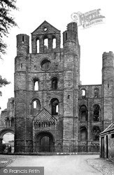 Kelso, Abbey, Norman Arches c.1950