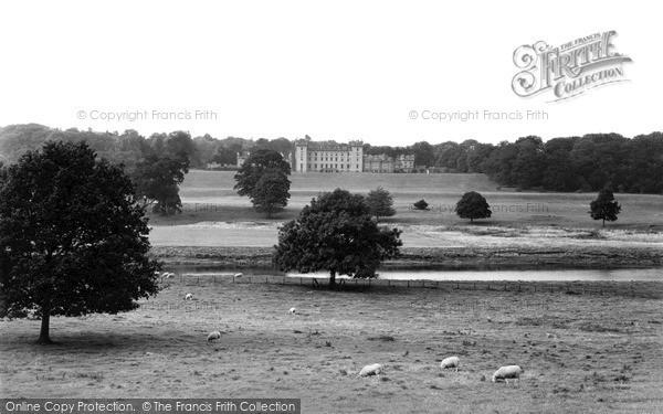 Photo of Kelso, Floors Castle c1950, ref. k55017