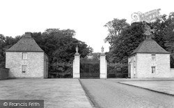Kelso, Floors Castle Entrance c.1950