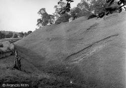 Kelso, Roxburgh Castle 1956