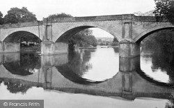 Kelso, The Teviot Bridge c.1950