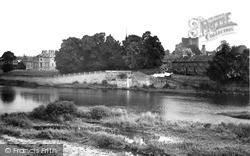Kelso, The Tweed From The Bridge c.1950