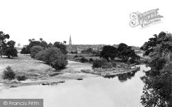 Kelso, View From Teviot Bridge c.1950