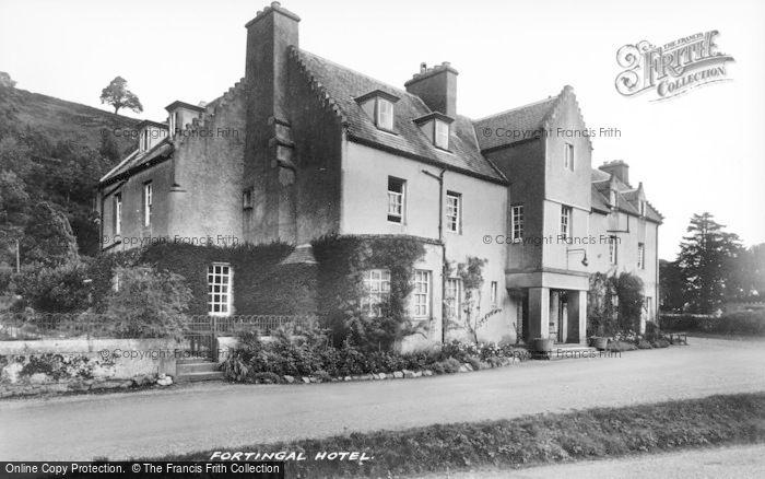 Photo of Keltneyburn, Fortingall Hotel c.1935