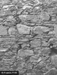Garth Castle, Wall Detail 1954, Keltneyburn