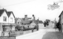 Kelvedon, Church Road c.1960