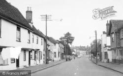 Kelvedon, High Street c.1950