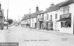 Kelvedon, High Street c.1955