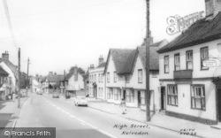 Kelvedon, High Street c.1960