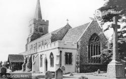 Kelvedon, Parish Church Of St Mary The Virgin c.1960