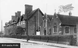Kelvedon, Roman Catholic Church And Convalescent Home c.1950