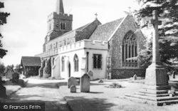 Kelvedon, St Mary's Church c.1955