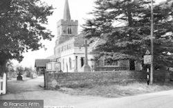 Kelvedon, St Mary The Virgin Parish Church c.1955