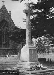 Kelvedon, War Memorial c.1950