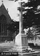 Kelvedon, War Memorial c1950