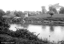 River Severn And Church 1910, Kempsey