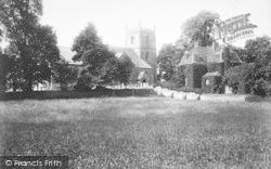St Mary's Church 1910, Kempsey