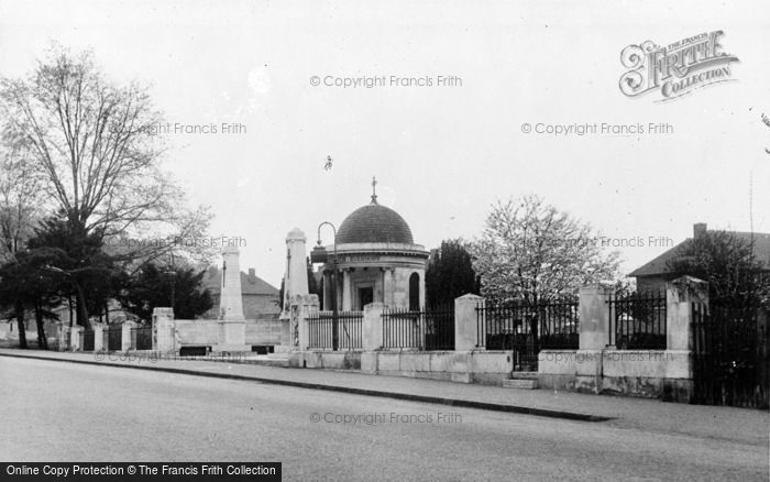 Photo of Kempston, Bedfordshire And Hertfordshire Regiment War Memorial c.1955