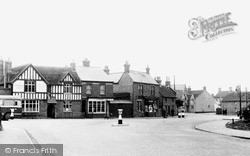 Kempston, The Cross Roads c.1955