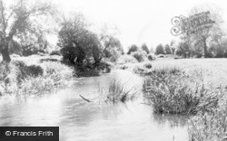 Kempston, The River c.1965