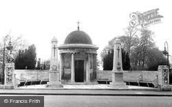 Kempston, The War Memorial c.1955