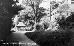 Kemsing, Church Lane c.1960