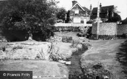 Kemsing, St Edith's Well c.1965