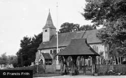 Kemsing, St Mary's Church c.1955