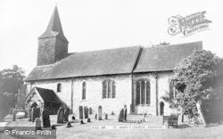 Kemsing, St Mary's Church c.1960