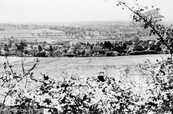 Kemsing, View From Shore Hill c.1955