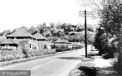 Kemsing, View From The Cross Roads, Childbridge Lane c.1960