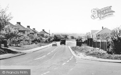 Kemsing, View From The Crossroads c.1960