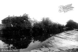 Kendal, Grammar School And Weir 1896