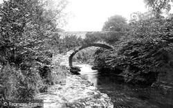 Kendal, Hawes Bridge 1891
