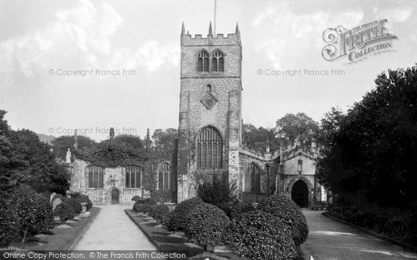 Photo of Kendal, Parish Church c1925, ref. K4307