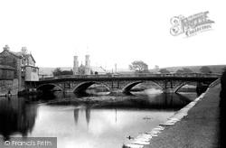 Kendal, Stramongate Bridge 1891
