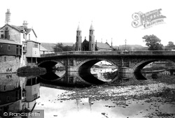 Kendal, Stramongate Bridge 1896