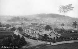 Kendal, The View From Castle Hill 1896