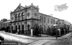 Kendal, The Wesleyan Chapel 1888
