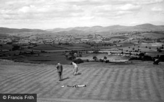 Kendal, view from Golf Links c1925