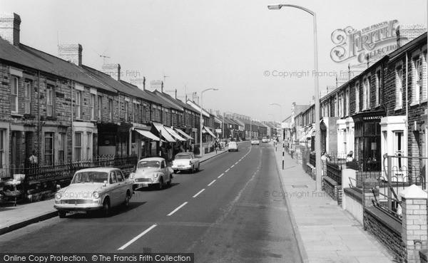 Photo of Kenfig Hill, Bridge Street c.1965