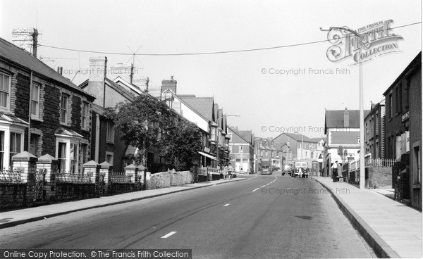Photo of Kenfig Hill, Commercial Road 1966